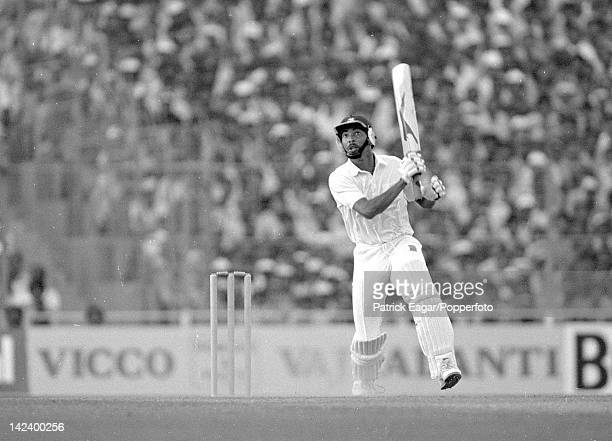 'Cricket World Cup1987 Final at Eden Gardens Calcutta England v Australia Phil DeFreitas skies a ball from Steve Waugh to be caught by Reid 64643_16A...