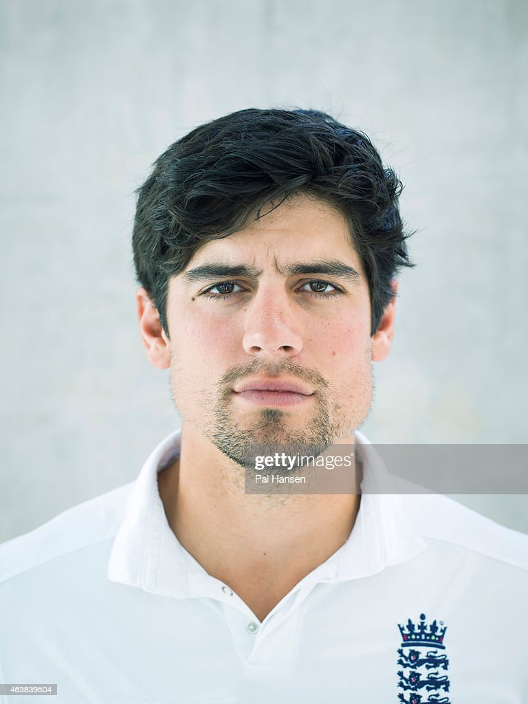 Cricketer <a gi-track='captionPersonalityLinkClicked' href=/galleries/search?phrase=Alastair+Cook+-+Cricket+Player&family=editorial&specificpeople=571475 ng-click='$event.stopPropagation()'>Alastair Cook</a> is photographed for the Observer on August 24, 2014 in London, England.