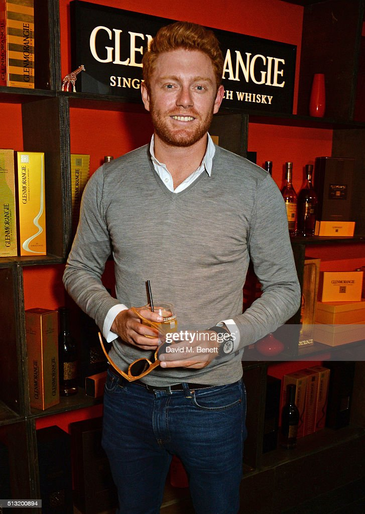 Cricketer Jonny Bairstow attends the launch of Glenmorangie and Finlay & Co. collaboration 'Beyond the Cask' on March 1, 2016 in London, England.