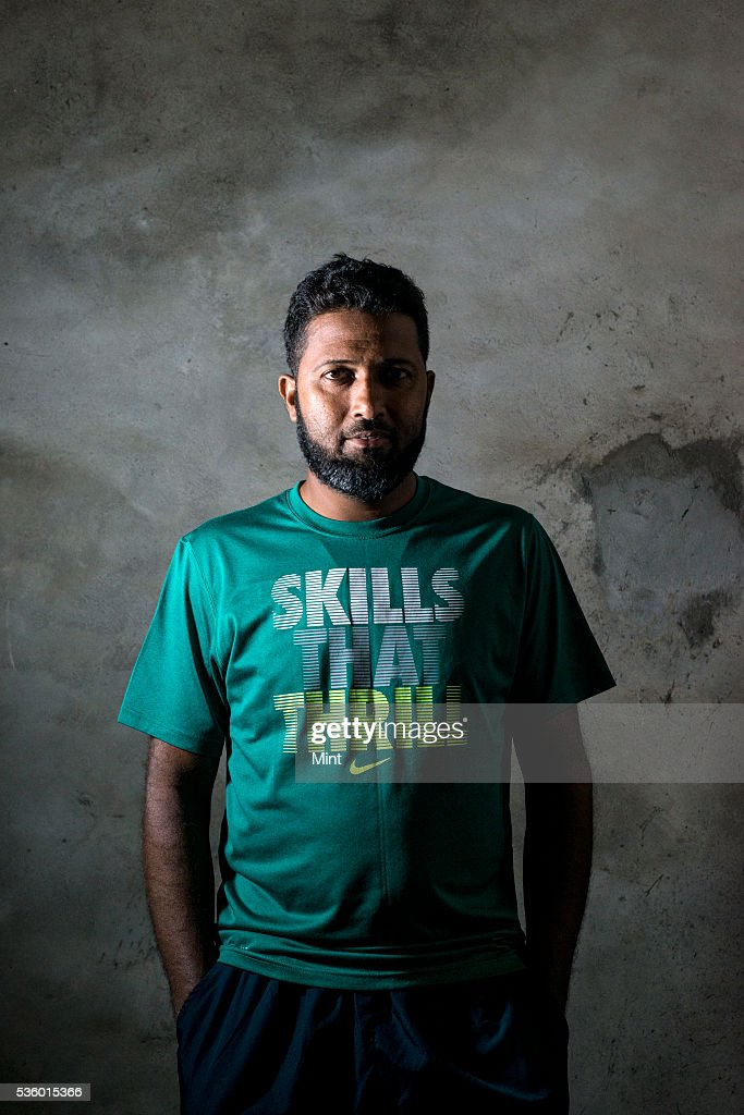 Wasim Jaffer cricketer at VCA stadium poses during an exclusive interview on November 28, 2015 in Nagpur, India.