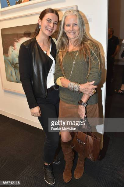 Crima Hardy and Cynthia Hardy attend the IFPDA Fine Art Print Fair Opening Preview at The Jacob K Javits Convention Center on October 25 2017 in New...