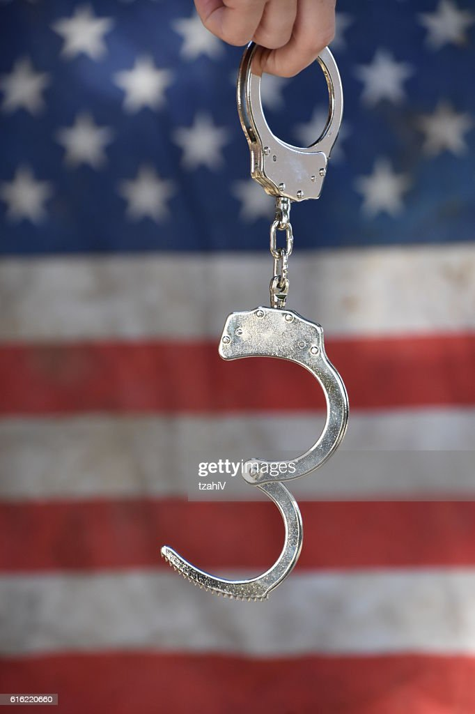 Crime and incarceration in the United States : Stock Photo