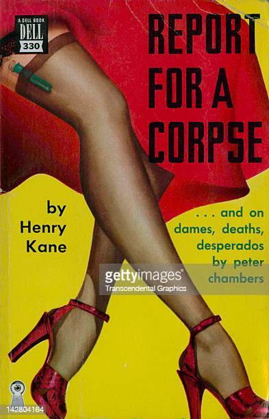 Crime and sex are the topics for this lurid paperback novel published by Dell in New York City in 1950