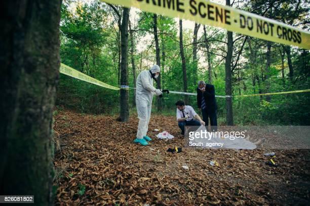 Crime invastigating