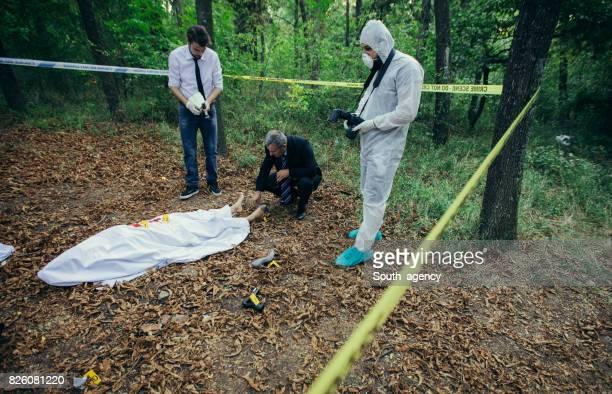 Crime invastigating team