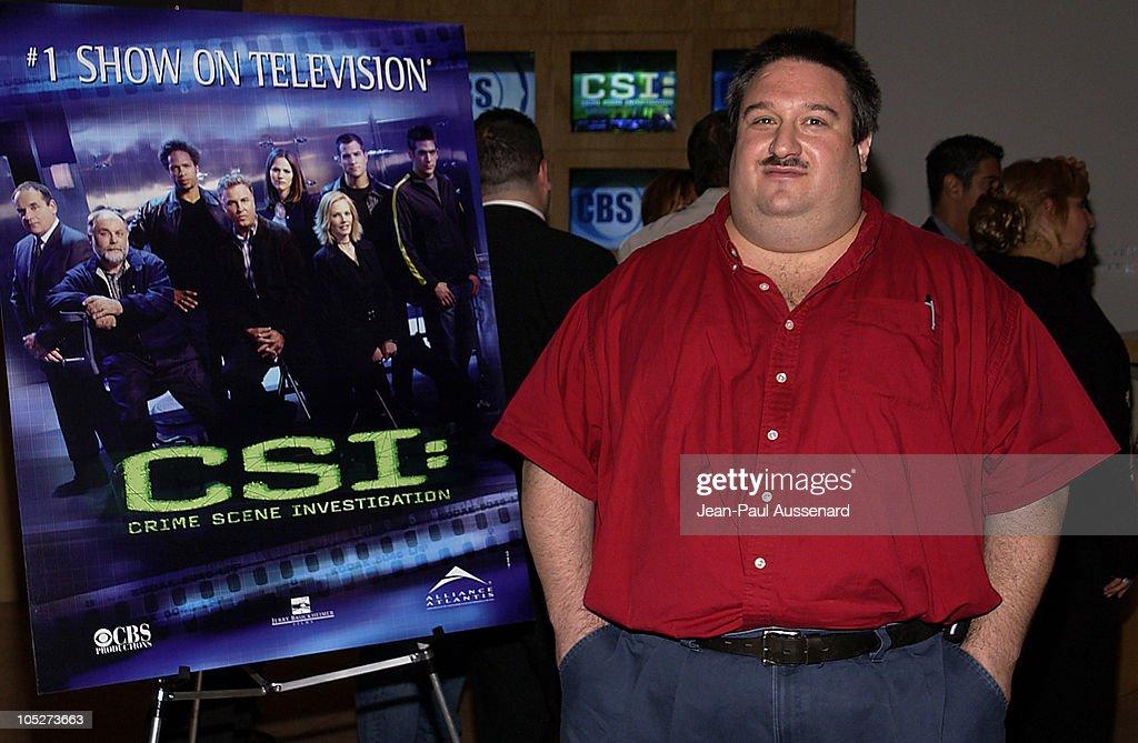Crime scene analyst Daniel Holstein from the Las Vegas Metro P.D.