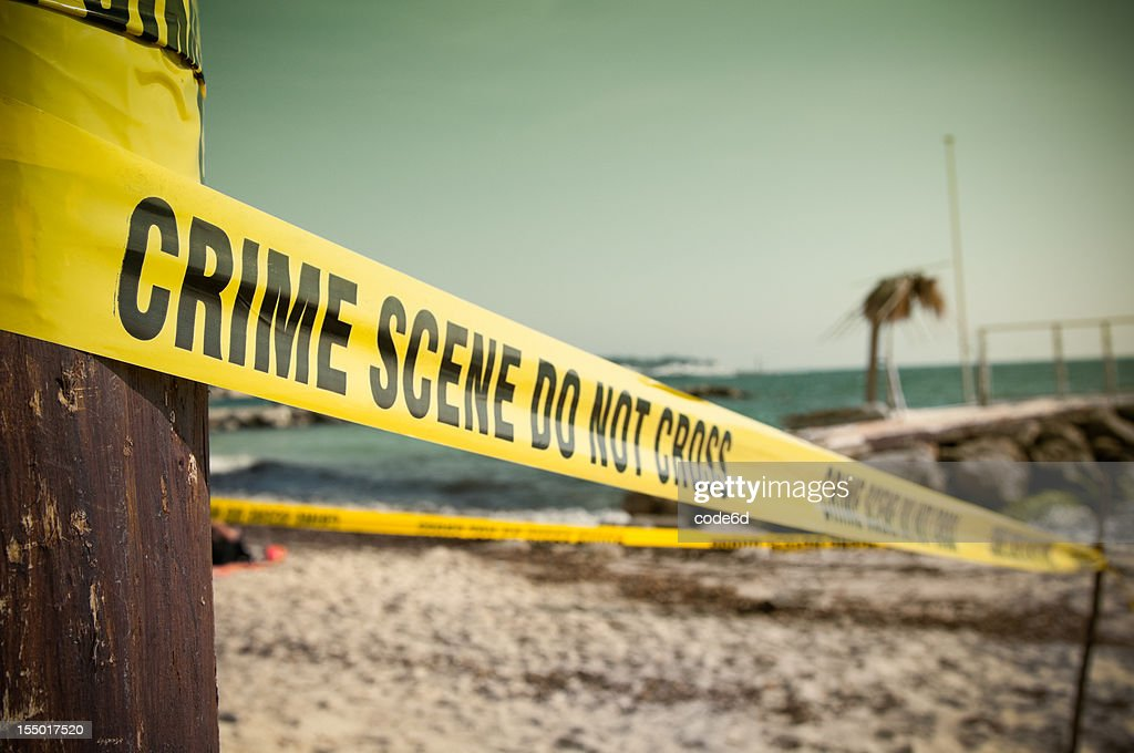 Crime Scene at the beach