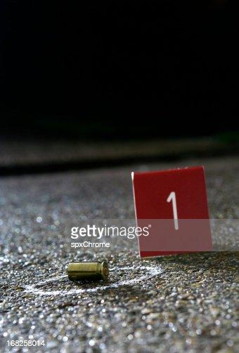 Crime Scene Evidence.