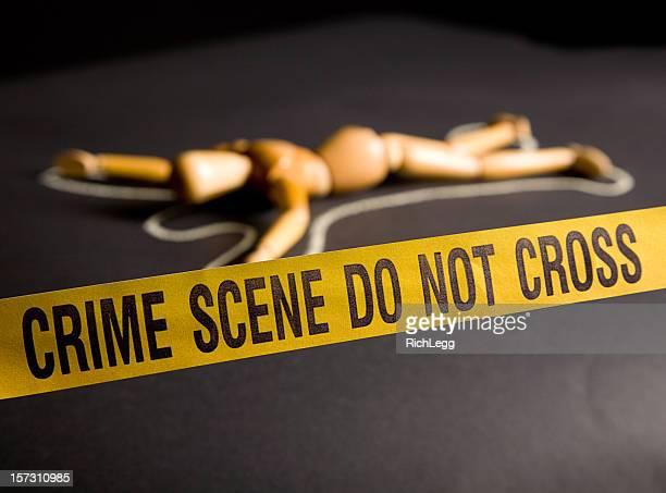 Lieu du Crime silhouette