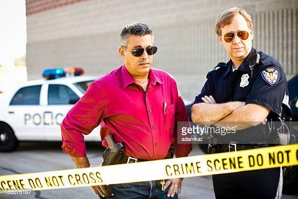 Scena del crimine di indagine