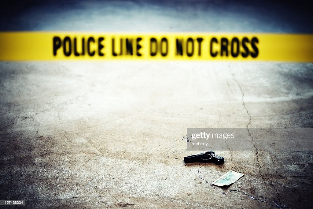 Crime scene : Stock Photo