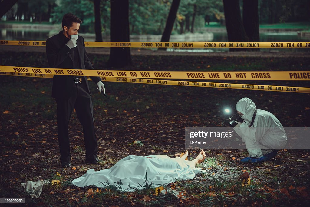 Crime scene : Stock Photo