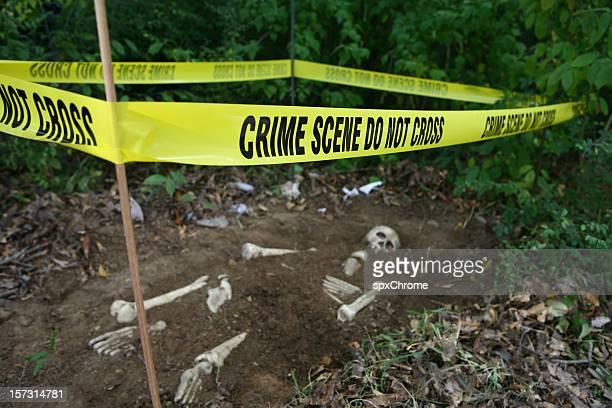 Crime Scene Skeleton