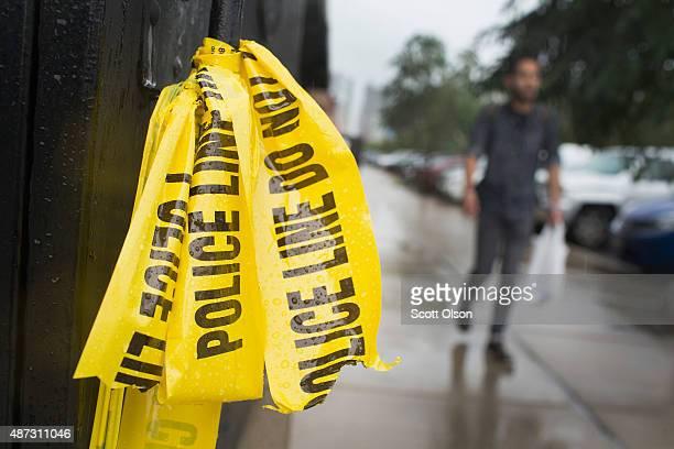 Crime scene tape still hangs in the West Loop restaurant district where a 23yearold man was shot and killed over the Labor Day weekend on September 8...