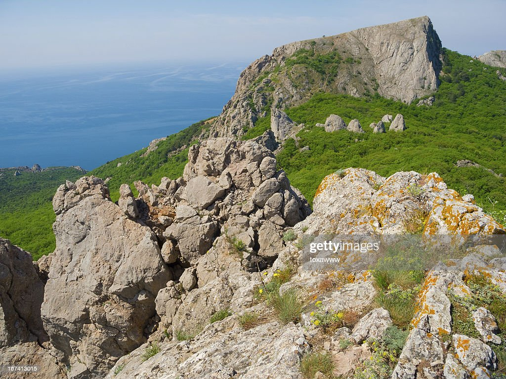 Crimea mountains : Stock Photo