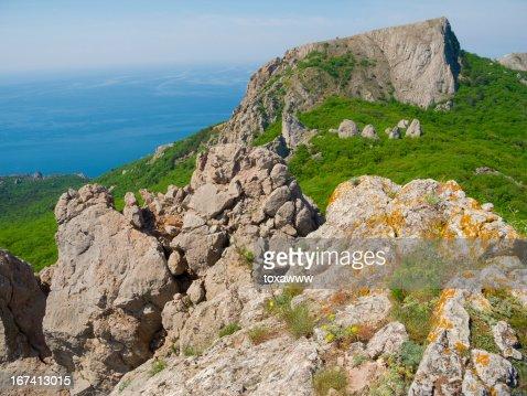 Crimea mountains : Stockfoto