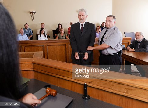 Criminal Defendant In Court Stock Photo | Getty Images
