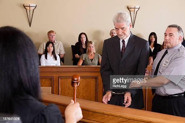 Criminal Defendant in Court