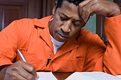 Criminal writing in court