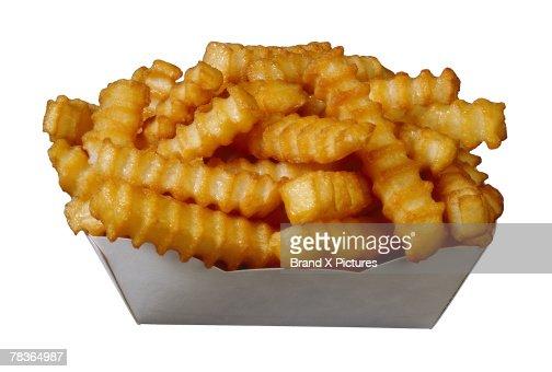 how to cut crinkle cut fries
