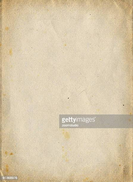 A crinkled vintage piece of textured paper