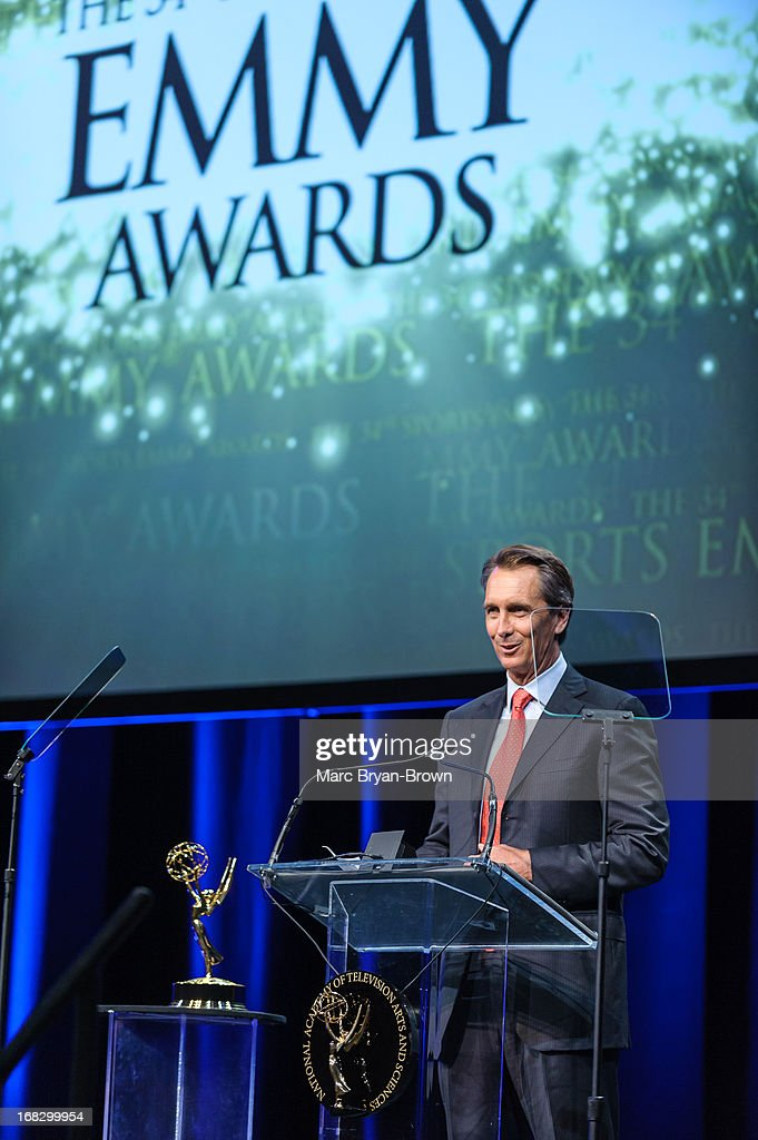 <a gi-track='captionPersonalityLinkClicked' href=/galleries/search?phrase=Cris+Collinsworth&family=editorial&specificpeople=745575 ng-click='$event.stopPropagation()'>Cris Collinsworth</a> attends the 34th Annual Sports Emmy Awards at Frederick P. Rose Hall, Jazz at Lincoln Center on May 7, 2013 in New York City.