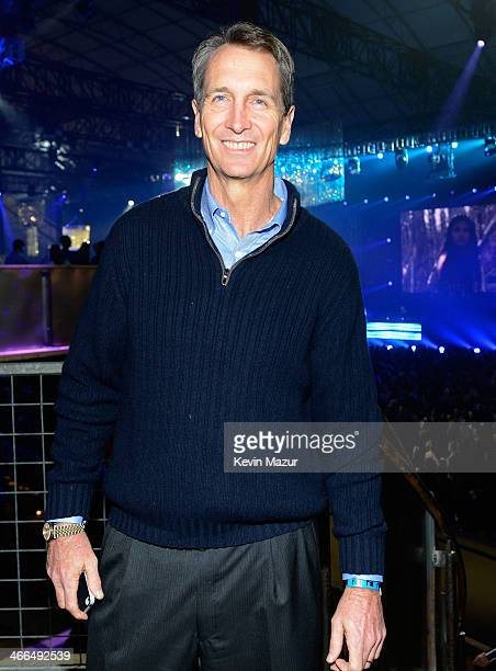 Cris Collinsworth attends the DirecTV Super Saturday Night at Pier 40 on February 1 2014 in New York City