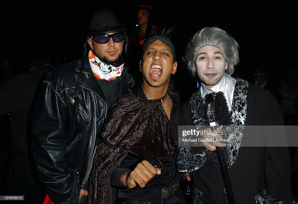 cris juddl and howie d r during girls gone wild - Wild Halloween Party