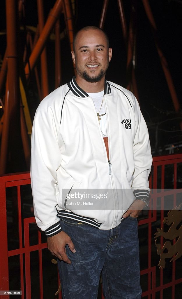 Cris Judd is seen at Joe Francis Birthday Celebration At Six flags Magic Mountain where they were to ride the USA's hottest new roller coaster 'Tatsu'on May 11, 2006 in Valencia, California.