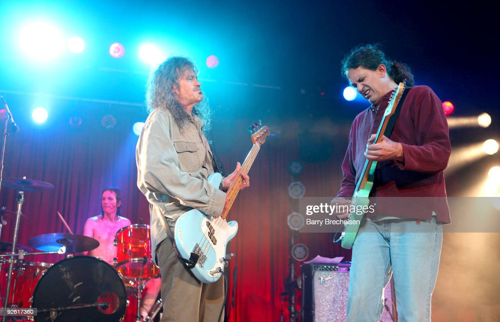 Cris Kirkwood and Curt Kirkwood of the Meat Puppets perform at the 2009 Voodoo Experience at City Park on November 1, 2009 in New Orleans, Louisiana.