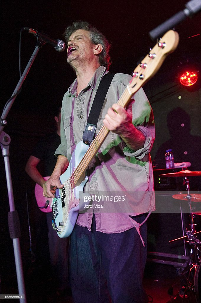 Cris Kirkwood of Meat Puppets performs at Sidecar on December 23, 2012 in Barcelona, Spain.