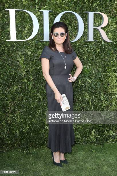 Cris Lotaif attends 'Christian Dior couturier du reve' Exhibition Launch celebrating 70 years of creation at Musee Des Arts Decoratifs on July 3 2017...