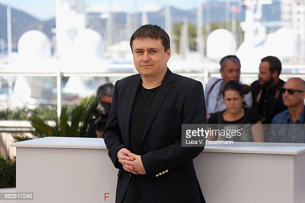 Crisitan Mungiu attends the 'Graduation ' Photocall during the 69th annual Cannes Film Festival at the Palais des Festivals on May 19 2016 in Cannes...