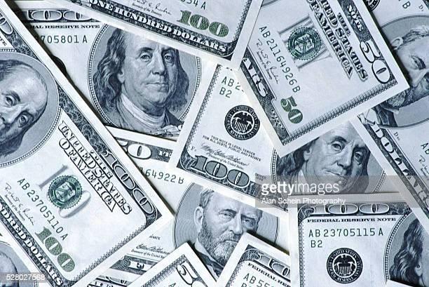 Crisp One Hundred Dollar Bills
