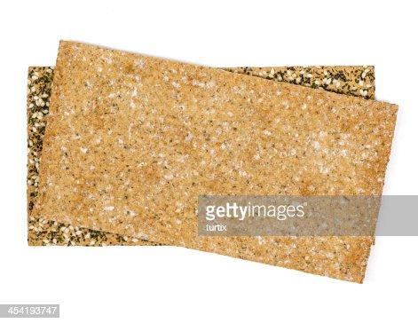 crispbread slices : Stock Photo