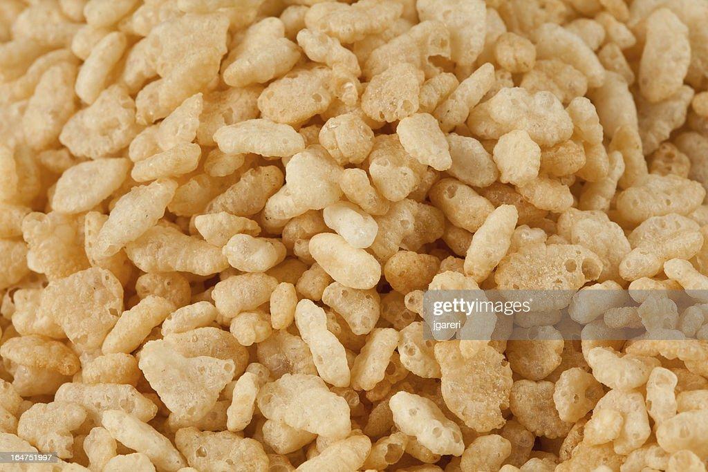 Crisped Rice Cereal : Stock Photo