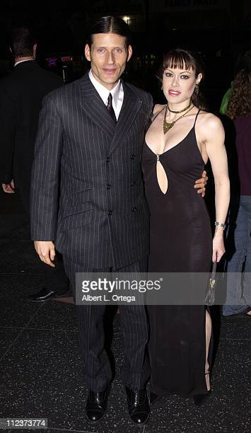 Crispin Glover and Alexa Loren during 'Willard' Special Screening at The Egyptian Theater in Hollywood California United States