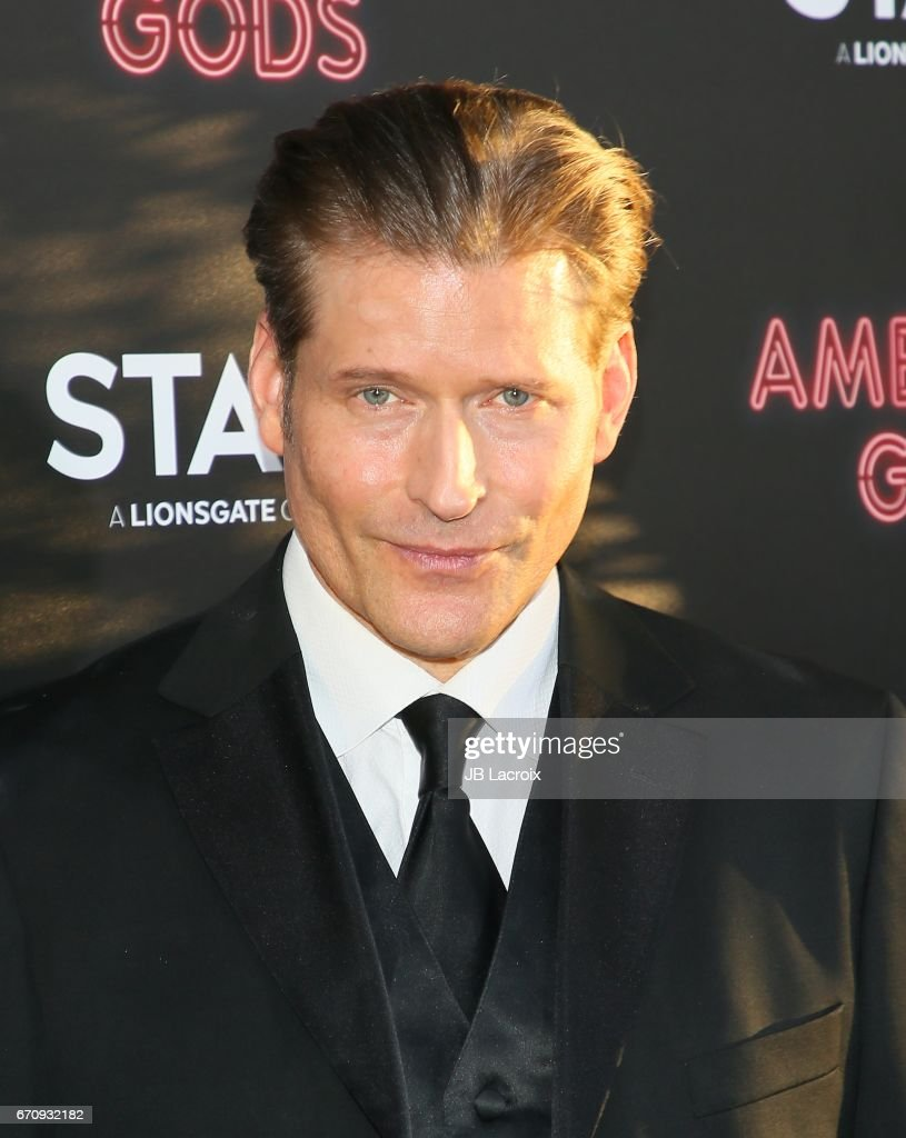 Crispin Glover attends the premiere Of Starz's 'American Gods' on April 20, 2017 in Hollywood, California.