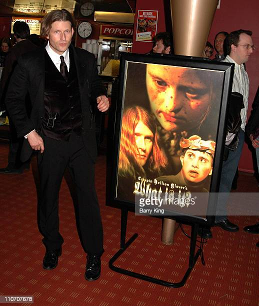 Crispin Glover director during American Cinematheque Presents Crispin Hellion Glover's 'What Is It' the Big Slide Show at Egyptian Theatre in...