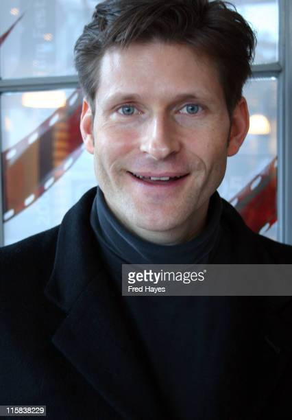 Crispin Glover director of 'What is it' during 2005 Sundance Film Festival Press Conference January 27 2005 at Kimball Art in Park City Utah United...