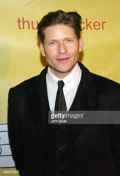 Crispin Glover during 2005 Park City 'Thumbsucker' Party at Premiere Lounge in Park City Utah United States