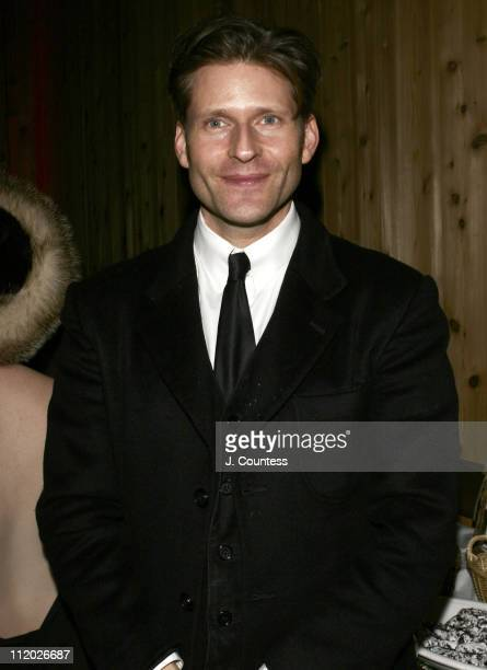 Crispin Glover during 2005 Sundance Film Festival 'Gen Art Party' at Empire Canyon Lodge in Park City Utah United States