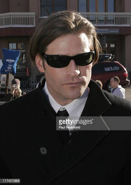 Crispin Glover during 2007 Sundance Film Festival Toureg Off Road Driving Course and VW Stars in Cars at VWHQ and Track in Park City Utah United...