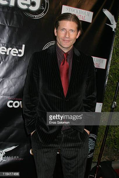 Crispin Glover during Launch of 'Hollywood Covered' Magazine and Niki Shadrow's Birthday at Falcon in West Hollywood California United States