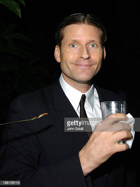 Crispin Glover during Opening Reception of the 22nd Annual American Wine and Food Festival at Chateau Marmont in Los Angeles California United States