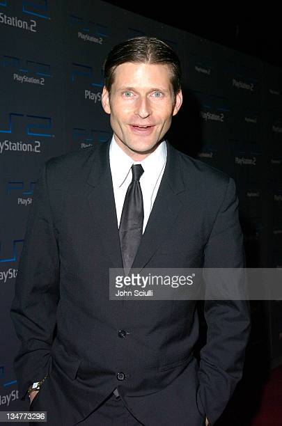 Crispin Glover during Playstation 2 Offers A Passage Into 'The Underworld' Red Carpet at Blecsco Theater in Los Angeles California United States