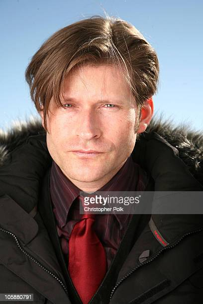 Crispin Glover *Exclusive Coverage* during 2006 Sundance Film Festival The North Face House Portraits Day 5 at Deer Valley in Park City Utah United...