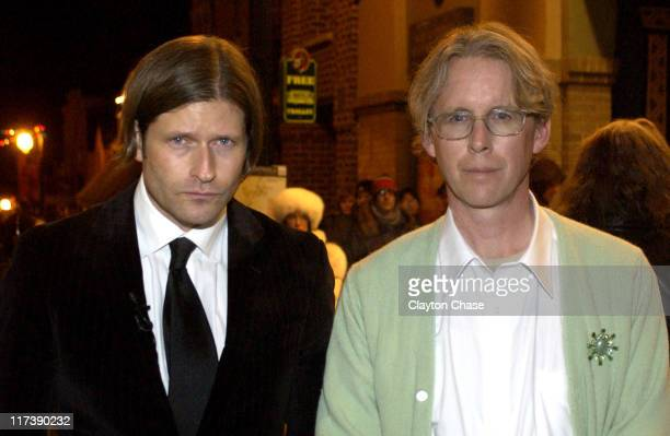 Crispin Hellion Glover and David Brothers during 2007 Sundance Film Festival 'It Is Fine EVERYTHING IS FINE' Premiere at Egyptian Theatre in Park...