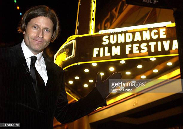 Crispin Hellion Glover during 2007 Sundance Film Festival 'It Is Fine EVERYTHING IS FINE' Premiere at Egyptian Theatre in Park City Utah United States
