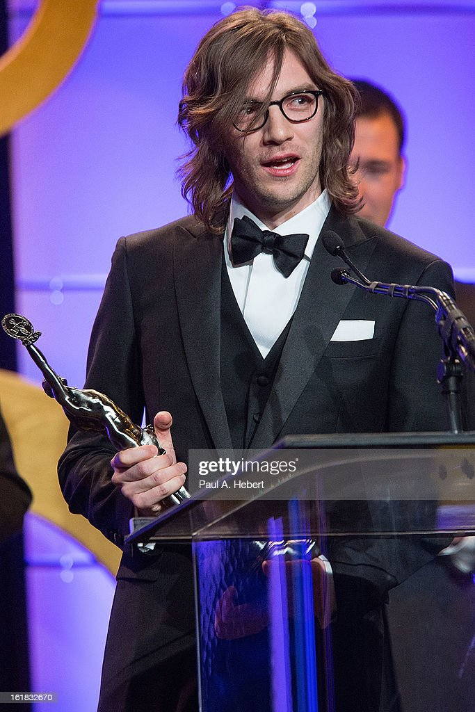 Crispin Struthers receives the award for Best Edited Feature Film (Comedy or Musical) for his work on 'Silver Linings Playbook' during the 63rd Annual ACE Eddie Awards held at The Beverly Hilton Hotel on February 16, 2013 in Beverly Hills, California.